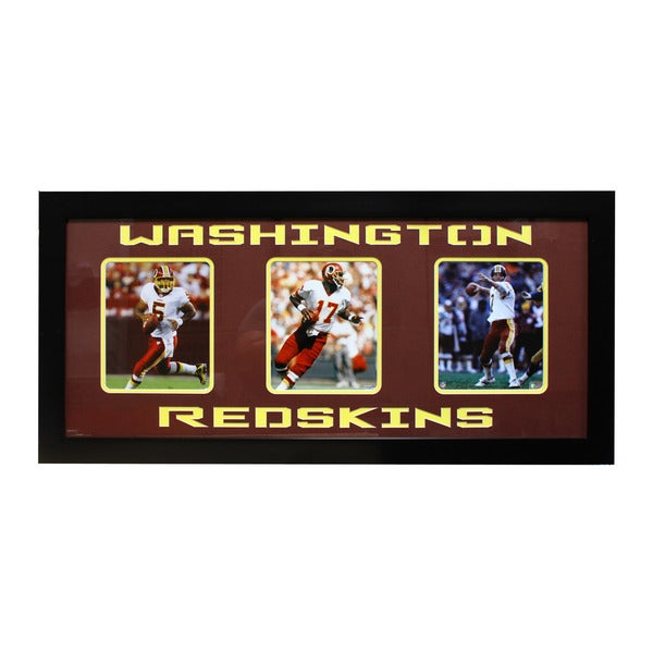 Washington Redskins Three-Photo Frame
