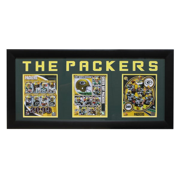 Green Bay Packers Three-Photo Frame