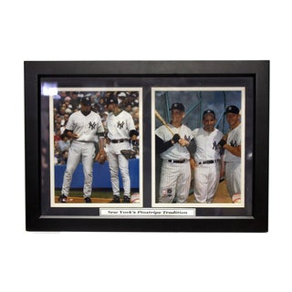 New York Yankees 'Pinstripe Tradition' Double Photo Frame