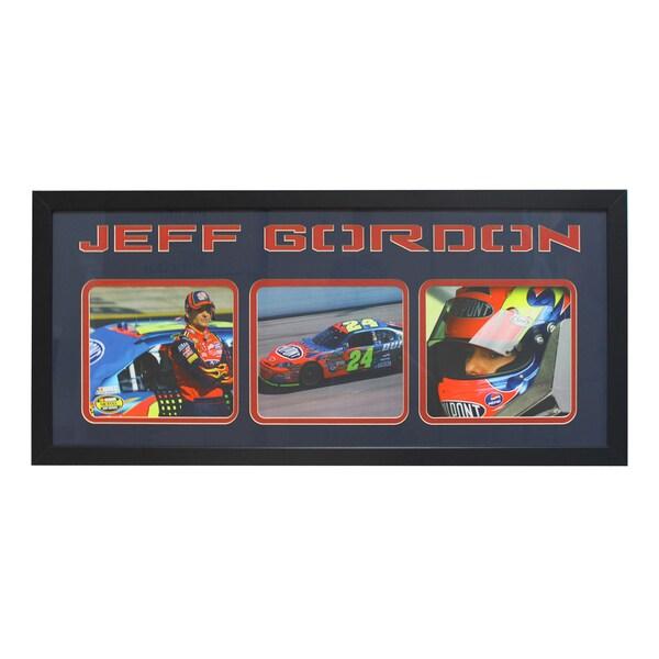 Jeff Gordon Three-Photo Frame
