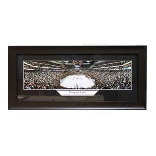 Minnesota Wild 'Inaugural Game 2000' Panoramic Frame