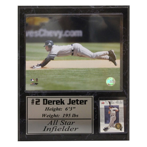 New York Yankees Derek Jeter Stat Plaque