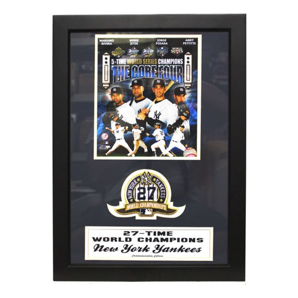 New York Yankees 'Core Four' Patch Frame