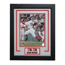 Boston Red Sox Jason Varitek Deluxe Photo Frame
