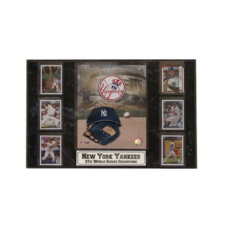 New York Yankees Six-Card Plaque