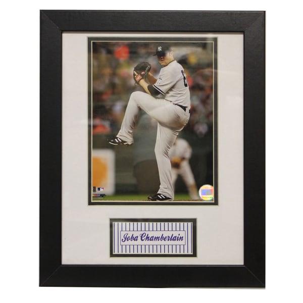 New York Yankees Joba Chamberlain Deluxe Frame