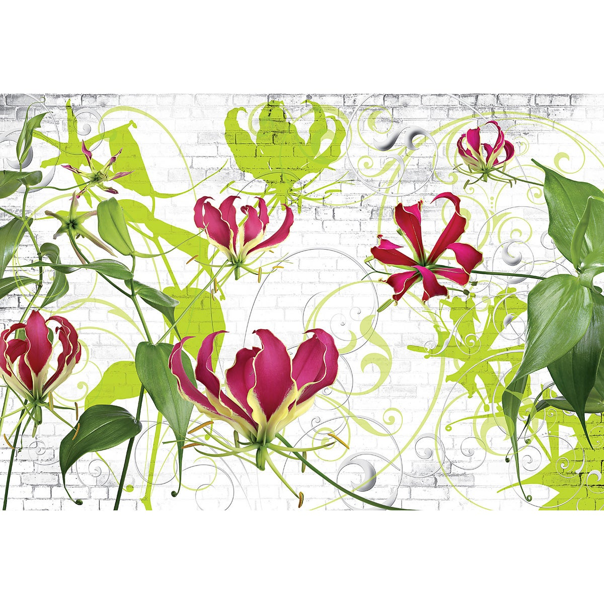 Komar 'Gloriosa' Vinyl Wall Mural at Sears.com