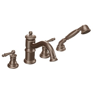 Moen Oil-rubbed Bronze Finish 2-handle Faucet