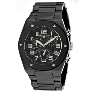Swiss Legend Men's 'Throttle' Black Ceramic Watch