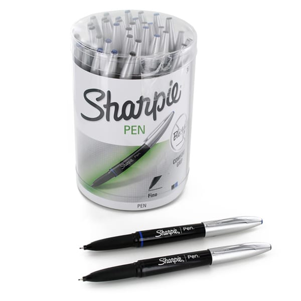 Sharpie Fine Point Grip Marker Pens (Pack of 36)