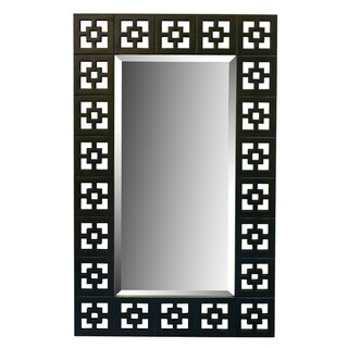 'Shag' Oil-rubbed Bronze Finish Wall Mirror