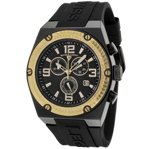 Swiss Legend Men's SL-30025-BB-01-GB Throttle Black Watch