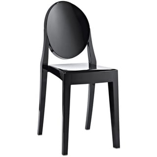 Philippe Starck Victoria Black Ghost Style Chair