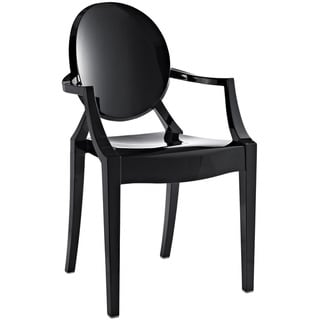Casper Dining Armchair in Black