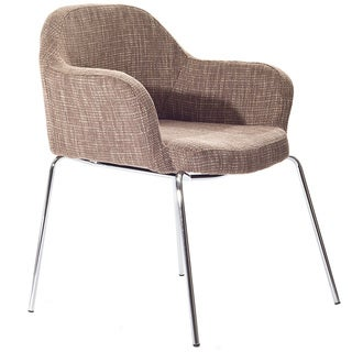 Oatmeal Tweed Saarinen Style Arm Chair
