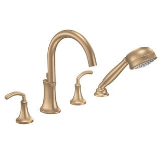 Moen Brushed Bronze Two-handle Tub Faucet