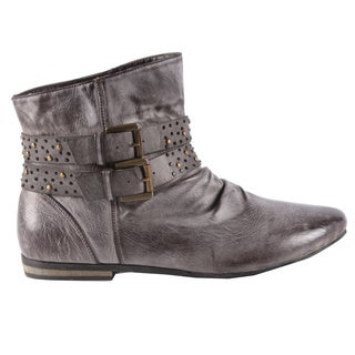 Beston Jacobies Women's 'PISA-10' Ankle Booties