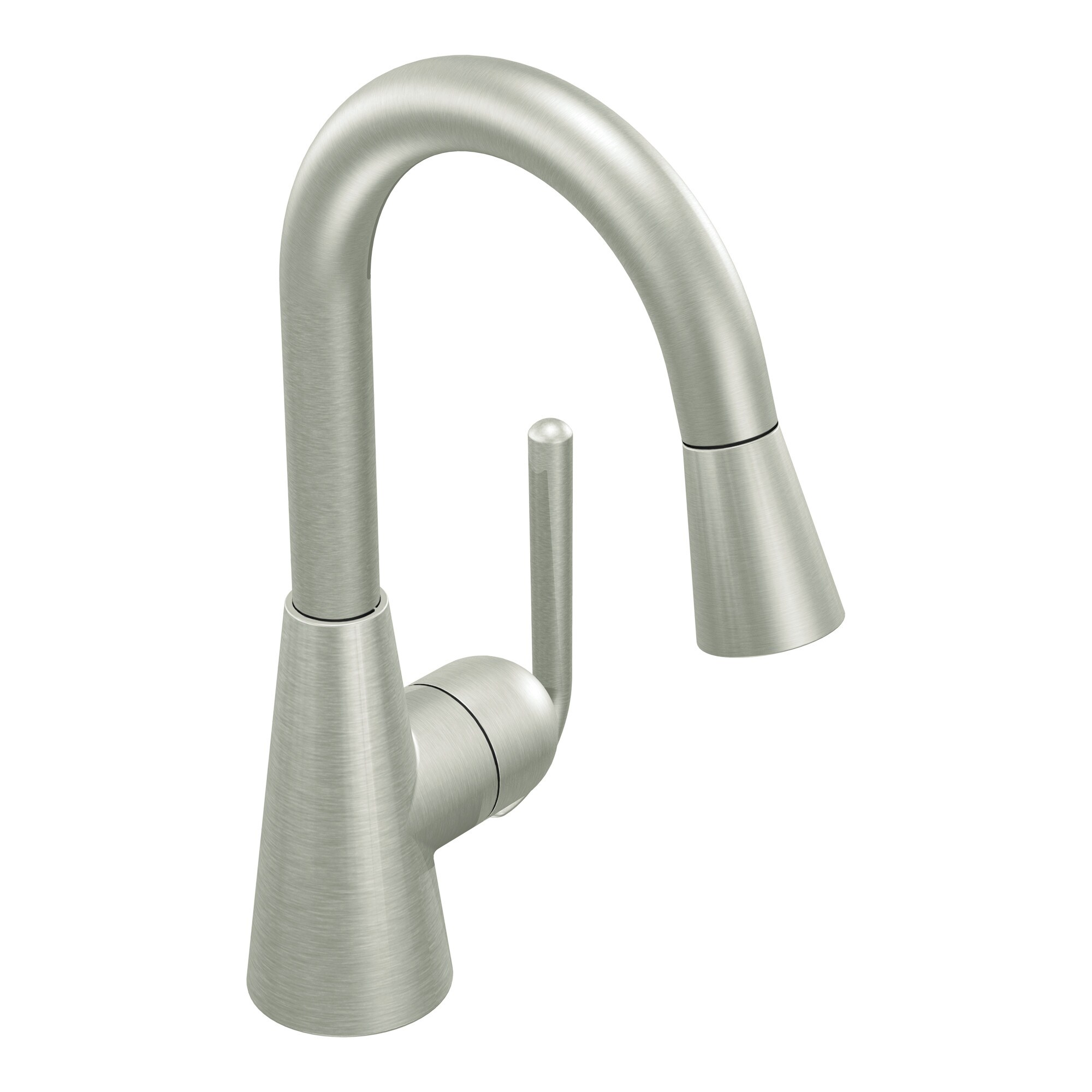 Moen Classic One-Handle High Arc Pulldown Bar Faucet