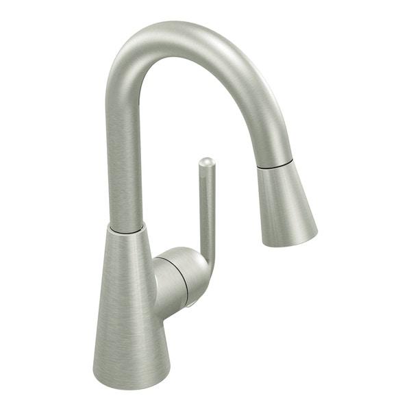 Moen Classic One-Handle High Arc Pulldown Bar Faucet
