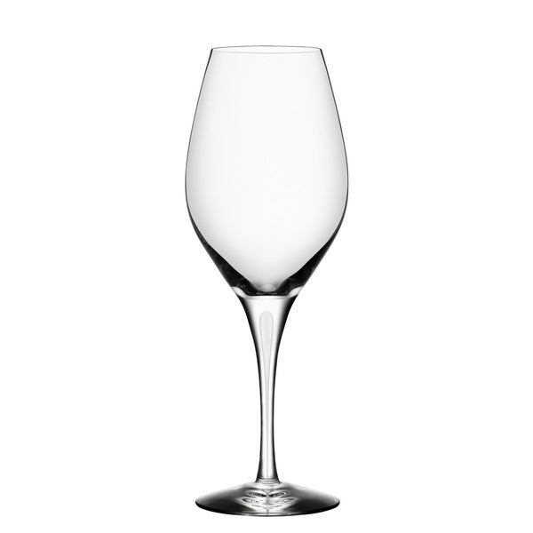 Orrefors Intermezzo Satin Clear Wine Glass