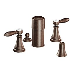 Moen Oil Rubbed Bronze Two-Handle Bidet Faucet