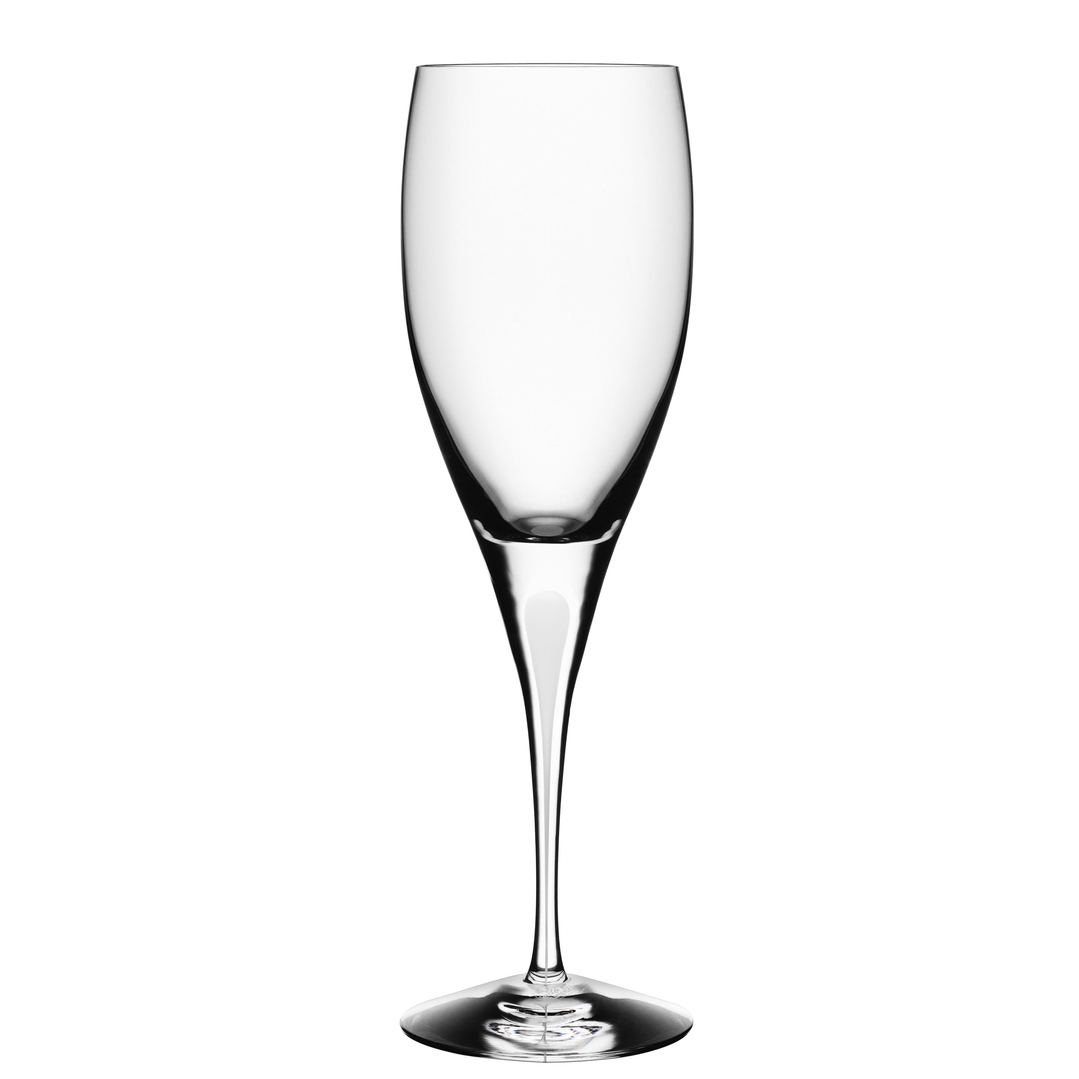 Orrefors Intermezzo Satin Wine Glass