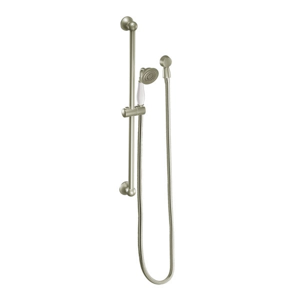 Moen Brushed Nickel Eco-Performance Handheld Shower