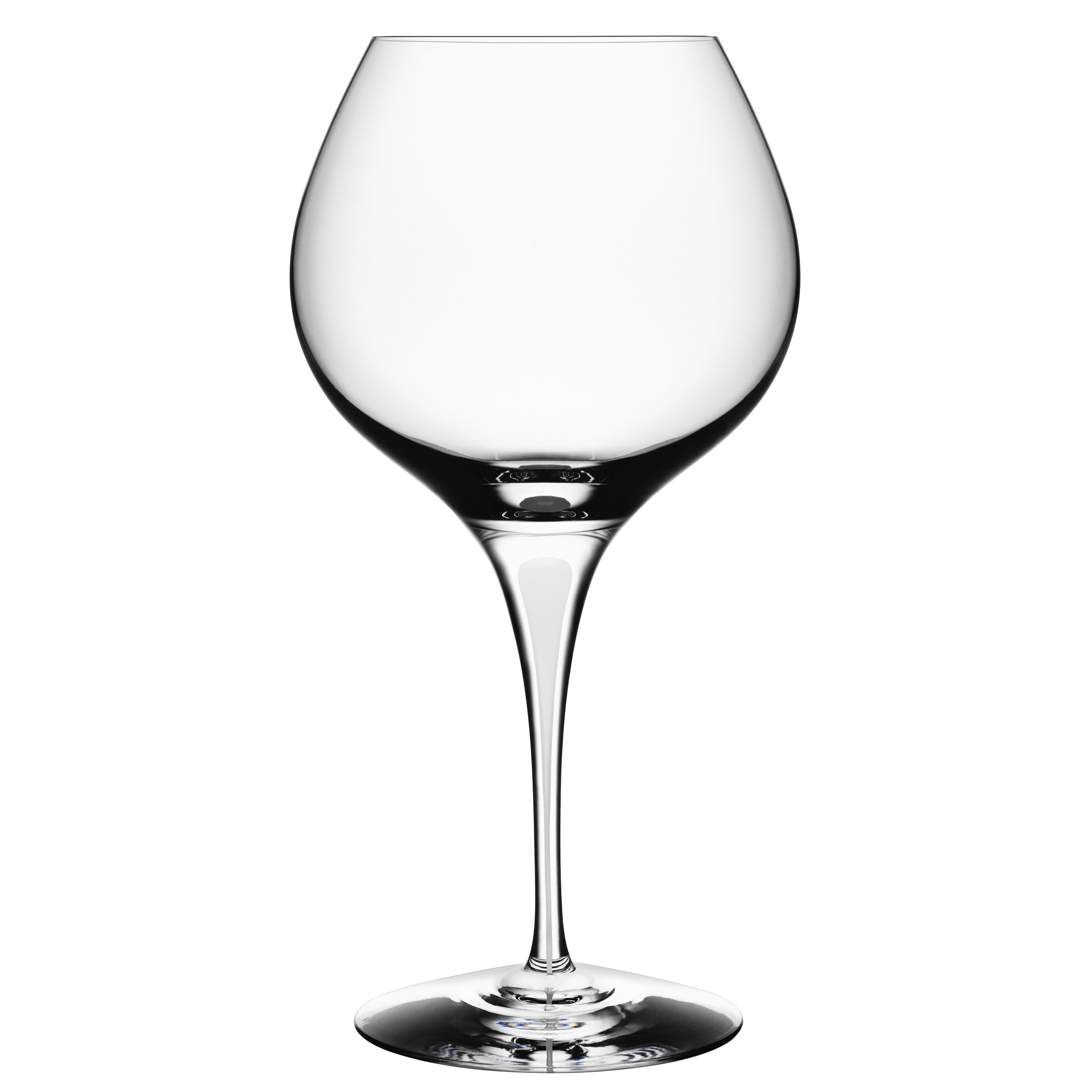 Orrefors Intermezzo Satin Bouquet Wine Glass