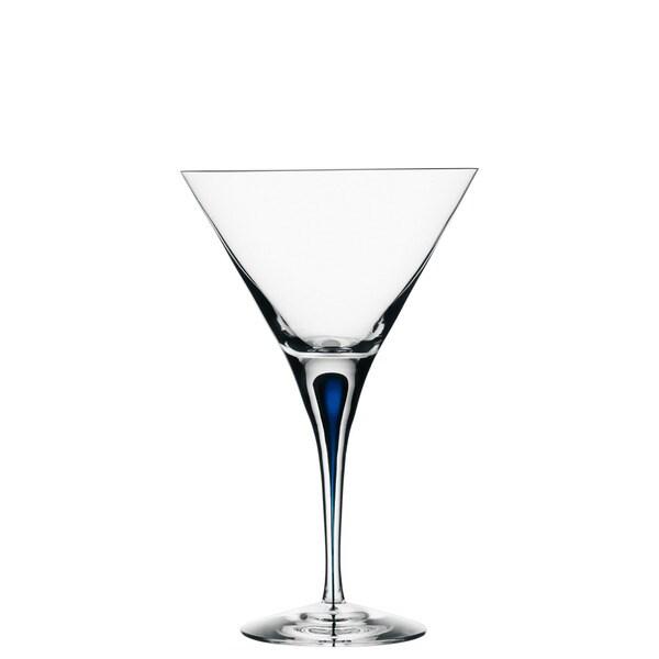 Orrefors Intermezzo Blue MartiniGlass