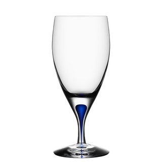 Orrefors Intermezzo Blue Iced Beverage Glass