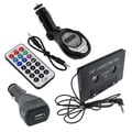 BasAcc Car Charger/ Car Adapter/ FM Transmitter for Apple iPhone 4G
