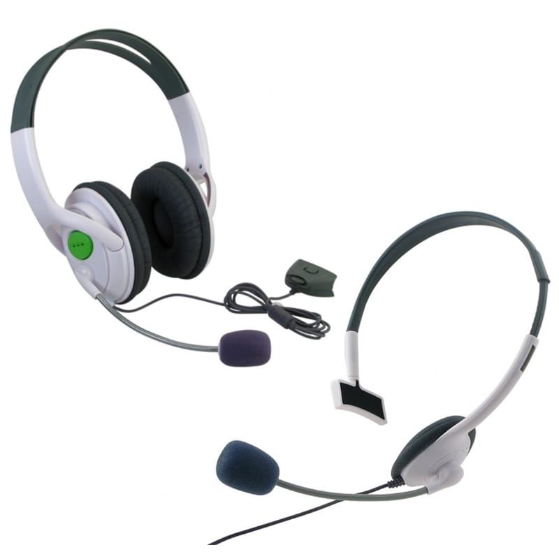 BasAcc Large Headset/ Small Headset for Microsoft xBox 360