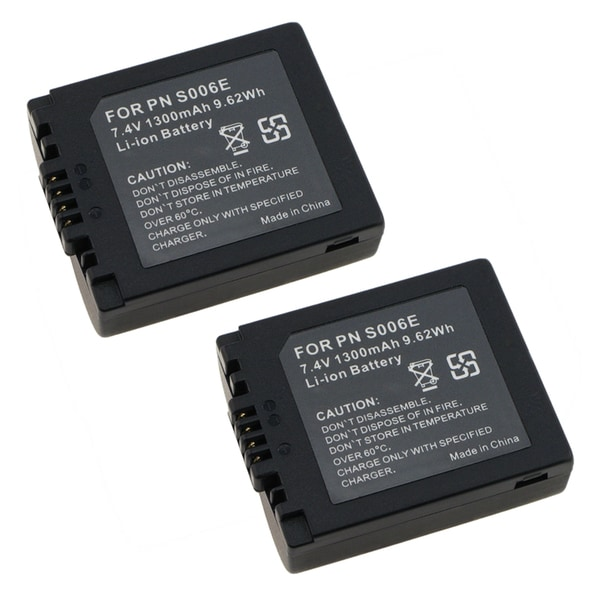 INSTEN Battery for Panasonic CGR-S006A/ DMC-FZ50/ FZ30