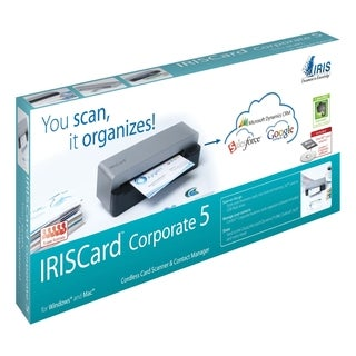 I.R.I.S. IRISCard Corporate 5 Sheetfed Scanner - 300 dpi Optical