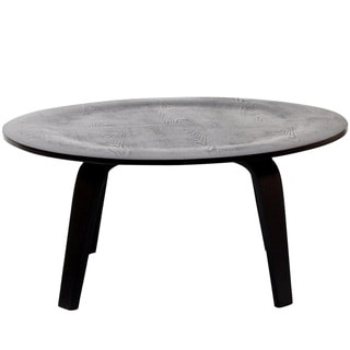 Circular Black Coffee Table