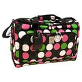 Jenni Chan Multi Dots 18-inch Carry On City Duffel Bag