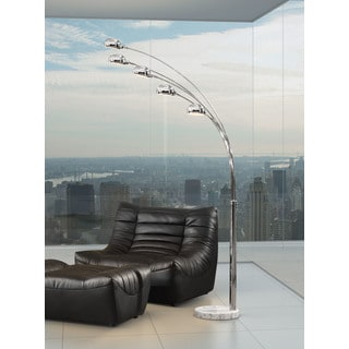 Chrome Finish Cosmic Floor Lamp