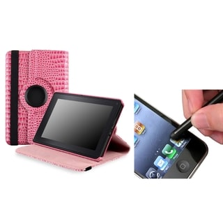 BasAcc Pink Case/ Black Stylus for Amazon Kindle Fire