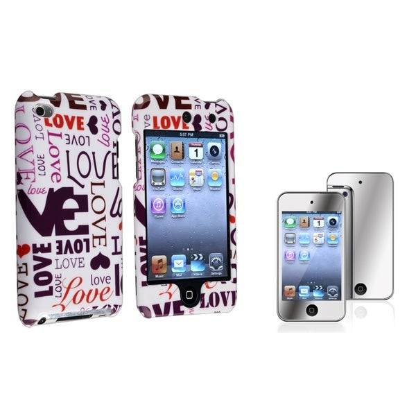 BasAcc Lover Case/ Screen Protector for Apple® iPod Touch Generation 4