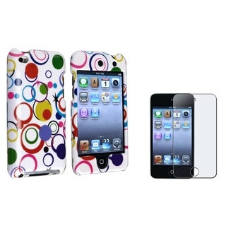 BasAcc Colorful Case/Screen Protector for Apple iPod Touch Generation 4