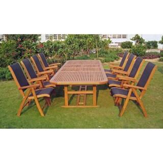 International Caravan Royal Tahiti Paloma 9-Piece Outdoor Dining Set