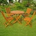 International Caravan Royal Tahiti Marin 5-Piece Outdoor Dining Set