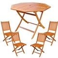 International Caravan Royal Tahiti Guernica 5-piece Outdoor Dining Set