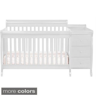 DaVinci Kalani Crib and Changing Table Combo with Toddler Rail