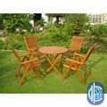 International Caravan Royal Tahiti Lucena 5-Piece Patio Dining Set