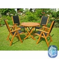 International Caravan Royal Tahiti Caceres 5-Piece Folding Patio Dining Set