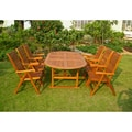 International Caravan Royal Tahiti Bilbao 7-Piece Patio Dining Set