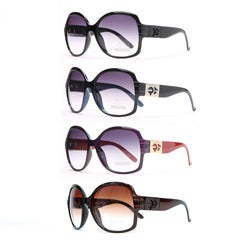 Anais Gvani Women's Round Box Frame Fashion Sunglasses