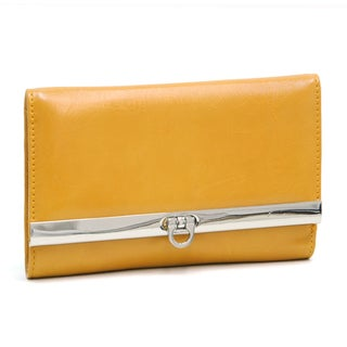 Dasein Yellow Tri-fold Wallet