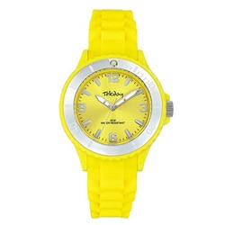 Tekday Children's Mirror Bezel Silicone Watch